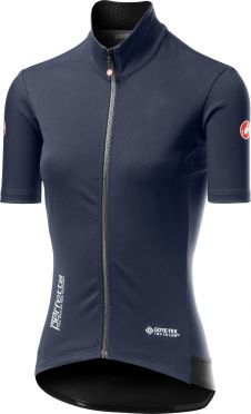 Castelli Perfetto RoS W Light korte mouw fietsshirt dark steel blauw dames