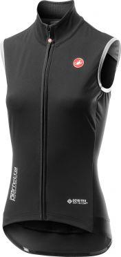 Castelli Perfetto RoS Vest mouwloos fietsshirt zwart dames