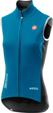 Castelli Perfetto RoS Vest mouwloos fietsshirt blauw dames