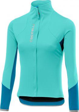 Castelli Trasparente 4 lange mouw fietsshirt blauw dames