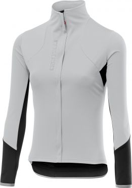 Castelli Trasparente 4 lange mouw fietsshirt grijs dames