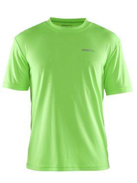 Craft Prime korte mouw hardloopshirt groen heren