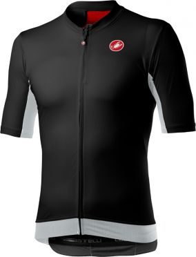 Castelli Vantaggio korte mouw fietsshirt zwart heren