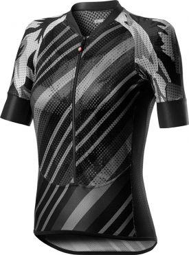 Castelli Climber's W korte mouw fietsshirt zwart dames