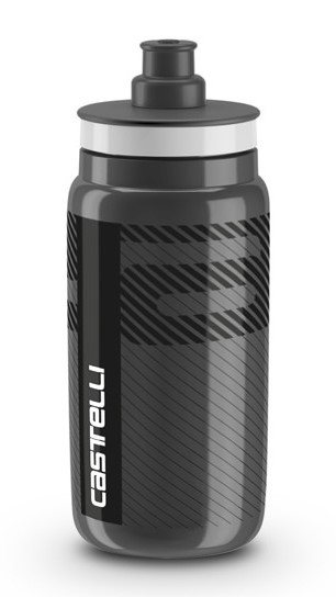 Castelli water bottle bidon 550ml zwart