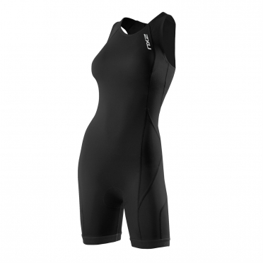 2XU Comp Trisuit women's  Rear Zip Black (WT2329d)