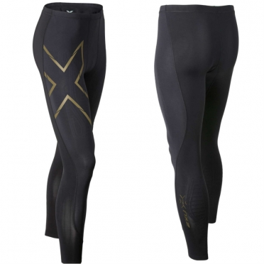 2XU Elite MCS Compression Tights zwart/goud heren MA3062b