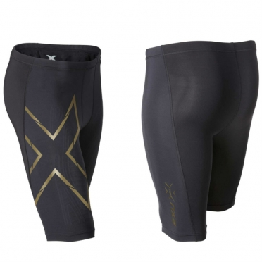 2XU Elite MCS Compression short zwart/goud heren