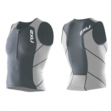 2XU Compression Tri Singlet MT1765A grey/white