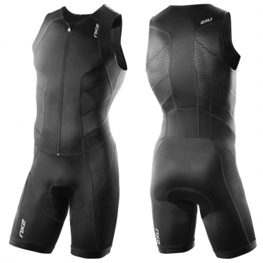 2XU Perform fullzip tri suit heren 2015 zwart MT3185d