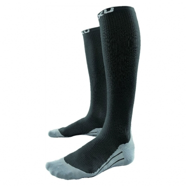 2XU heren Compression Race Sock zwart-grijs MA1957e