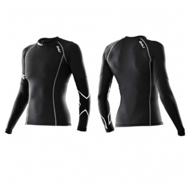 2XU Thermische compressie top L/S zwart dames WA2003a 2015