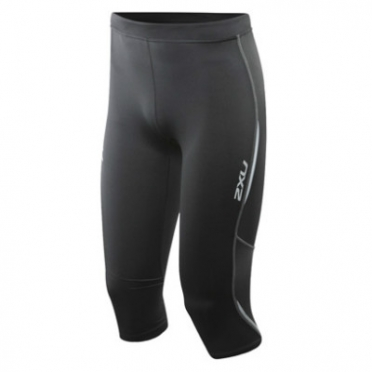 2XU Active 3/4 Run Tights Womens WR1640b BLK