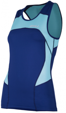 2XU Active Tri singlet blauw dames