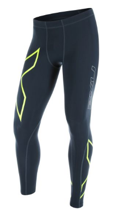 2XU TR2 Compression Tights zwart/geel heren