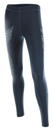 2XU Hyoptik Compressiebroek zwart/grijs dames