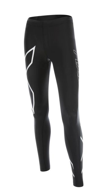 2XU HEAT Compressie tight zwart-wit dames