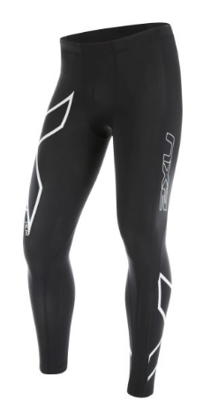2XU HEAT Compressie tight zwart-wit