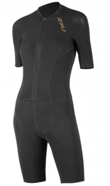 2XU Project X tri suit zwart/goud dames