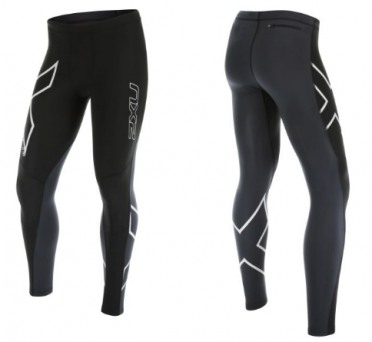 2XU G:2 Wind Defence Thermal Compression Tights zwart/wit heren