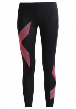 2XU TR2 Compression Tights zwart/roze dames