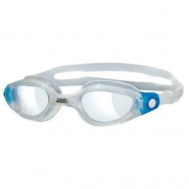 Zoggs Phantom Elite zwembril blauw/transparant - transparante lens