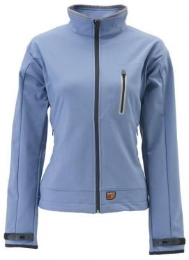 30Seven softshell jas dames blauw