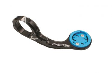 K-Edge Wahoo ELEMNT mount 31.8mm zwart