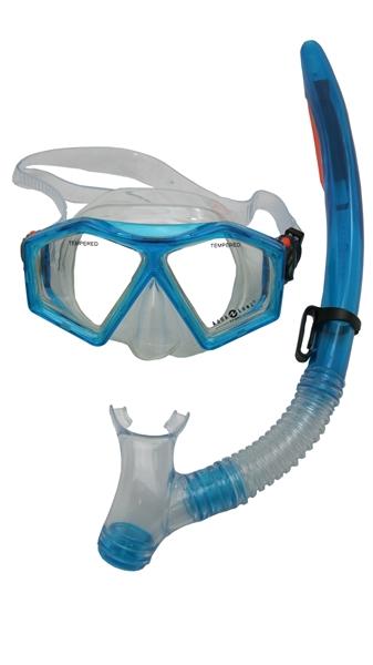Aqua Lung Sport Molokai + Spout Kids Snorkelset aqua