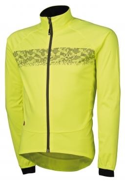 Agu Nova hivis fietsjack geel(fluo)/reflectie heren