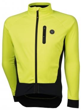 Agu Tirano fietsjack geel (fluo) heren