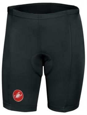 Castelli Kids pinocchio short fietsbroek zwart