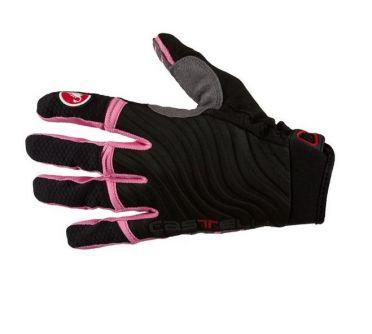 Castelli CW. 6.0 cross glove crosshandschoenen zwart/roze