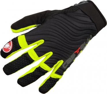 Castelli CW. 6.0 cross gloves zwart/geel-fluo heren 11539-321