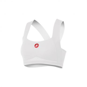 Castelli Rosso corsa light bra wit dames