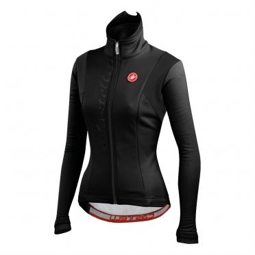Castelli magia W jacket lange mouw zwart dames 13555-010 2014
