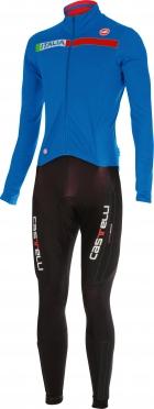 Castelli Sanremo 2 thermosuit zwart/blauw heren 14500-059