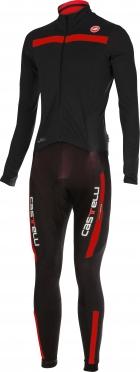 Castelli Sanremo 2 thermosuit zwart/rood heren 14500-231