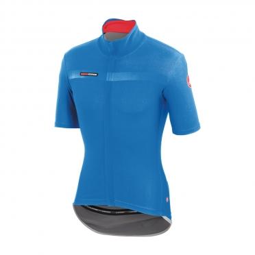 Castelli gabba 2 jacket korte mouw blauw heren 14511-059