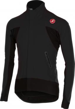 Castelli Alpha wind jersey FZ zwart heren 14516-010