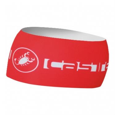 Castelli viva thermo headband rood heren 14551-023