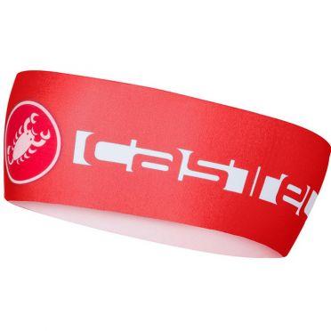 Castelli Viva thermo hoofdband rood heren