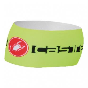 Castelli viva thermo headband heren geel 14551-032