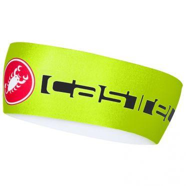 Castelli Viva thermo hoofdband fluo geel heren