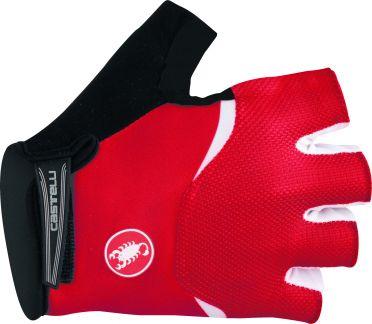 Castelli Arenberg gel glove rood/wit heren