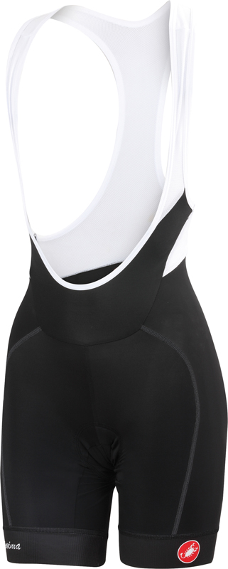 Castelli Velocissima W bibshort zwart dames 15046-010