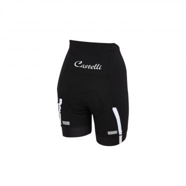 Castelli Velocissima W short zwart/wit dames 15047-101