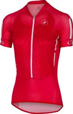 Castelli Climber's W jersey rood/wit/zwart dames