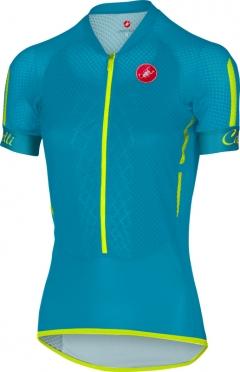 Castelli Climber's W jersey blauw/geel dames