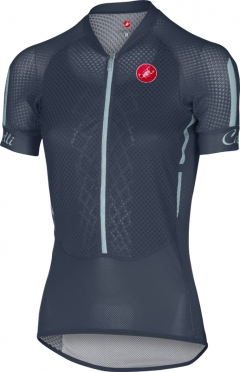 Castelli Climber's W jersey navy/blauw dames